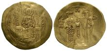 Ancient Byzantine Coins - John II - Gold Histamenon Nomisma