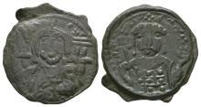 Ancient Byzantine Coins - Michael VII Ducas - Portrait Follis