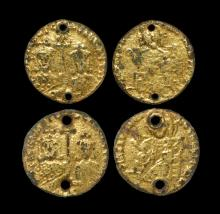 Ancient Byzantine Coins - Pseudo-Solidus Group [2]