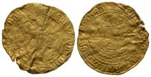 English Tudor Coins - Henry VIII - Gold Angel