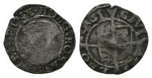 English Tudor Coins - Edward VI in name of Henry VIII - York - Three Quarter Bust Penny