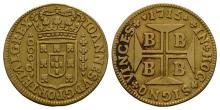World Coins Brazil - Joao V - Bahia - 1715 - 2000 Reis
