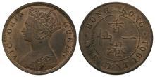 World Coins - Hong Kong - Victoria - 1901 - 1 Cent