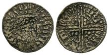 English Medieval Coins - Henry III - Canterbury / Robert - Gilt Voided Long Cross Penny