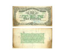 British Banknotes - Ireland - Belfast Banking Co Ltd - 1939 - £10
