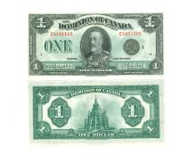 World Banknotes - Dominion of Canada - 1923-1925 - $1