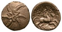 Celtic Iron Age Coins - Catuvellauni - Addedomaros - Gold Spiral Stater