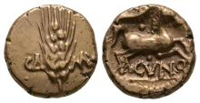 Celtic Iron Age Coins - Trinovantes and Catuvellauni - Cunobelin - Plastic Variant Gold Stater