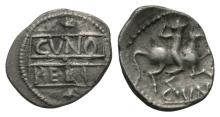 Celtic Iron Age Coins - Catuvellauni - Cunobelin - Horseman Unit