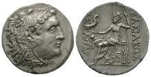 Ancient Greek Coins - Macedonia - Alexander III (the Great) - Zeus Tetradrachm