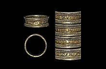 Post Medieval Silver-Gilt +MY*HART*IS*YOVRS* Posy Ring