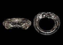 Western Asiatic Achaemenid Bracelet with Lion Heads
