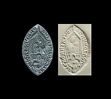 Medieval 'St Mary Pray for Thy Servant' Monastic Seal Matrix