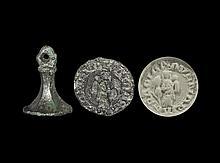 Medieval 'Hail Mary Full of Grace' Seal Matrix