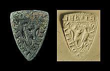 Medieval Shield-Shaped Seal Matrix
