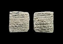 Western Asiatic Old Babylonian Cuneiform Tablet
