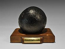 Shipwreck Cannon Ball from HMS Ramillies