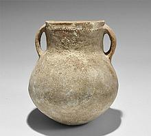 Bronze Age Holy Land Two Handled Jar