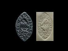 Medieval 'William The Chaplain' Vesica Seal Matrix