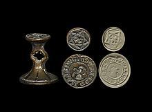 Medieval 'William Cokherd' Double Seal Matrix