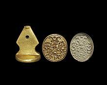 Post Medieval Von Schacht Heraldic Seal Matrix