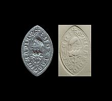 Medieval 'Richard of Rizer' Vesica Seal Matrix