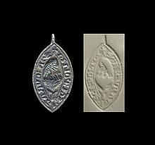 Medieval Saint-Hippolyte Seal Matrix