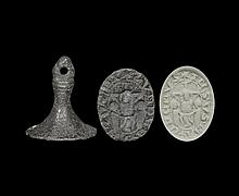Medieval 'Christ Crucified' Seal Matrix