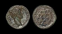 Ancient Roman Imperial Coins - Marcus Aurelius (under Antoninus Pius) - Wreath As