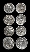 Ancient Greek Coins - Macedonia - Alexander III - Tetradrachm Group [4]