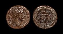 Ancient Roman Imperial Coins - Antoninus Pius - Wreath As