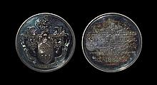 British Award Medals - Sheffield - Cutler's Company Industrial Exhibition - 1885 - Cased Silver Award Medal (T. Lee)