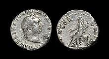 Ancient Roman Imperial Coins - Vitellius - Concordia Denarius