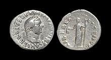 Ancient Roman Imperial Coins - Vitellius - Libertas Denarius