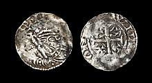 English Medieval Coins - Henry II - Carlisle / William - Tealby Penny