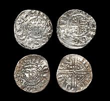English Medieval Coins - John to Henry III - Short Cross and Voided Long Cross Penny Group [2]