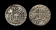 English Medieval Coins - Henry III - Durham / Pieres - Short Cross Penny