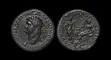 Ancient Roman Imperial Coins - Nero - Ceres and Annona Sestertius