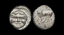 Ancient Greek Coins - Mysia - Parium - Bull Hemidrachm