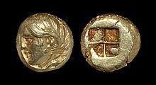 Ancient Greek Coins - Phocaea - Ionia - Electrum Portrait Hekte