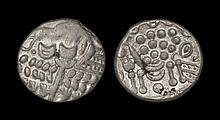 Celtic Iron Age Coins - Durotriges - Bradbury Rings - Silver Stater