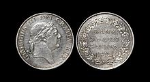 English Milled Coins - George III - 1812 - 3 Shilling Bank of England Token