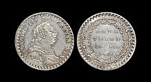 English Milled Coins - George III - 1811 - 18 Pence Bank of England Token