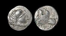 Celtic Iron Age Coins - Danubian - 'Macedonia' - Imitative Horse Tetradrachm