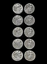 Ancient Greek Coins - Antioch ad Orontem - Philip Philadelphus - Zeus Tetradrachm Group [5]