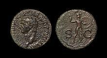 Ancient Roman Imperial Coins - Claudius - Minerva As