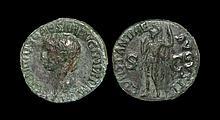 Ancient Roman Imperial Coins - Claudius - Constantia As