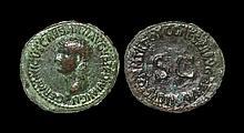 Ancient Roman Imperial Coins - Germanicus (under Caligula) - Inscription As