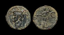 Ancient Roman Imperial Coins - Agrippa (under Caligula) - Neptune As