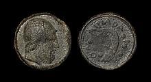 Ancient Greek Coins - Sicily - Lipara - Galley Hemilitron